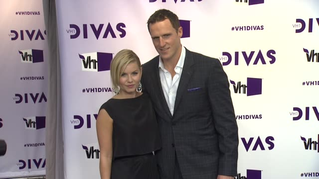 dion phaneuf elisha cuthbert at vh1 divas 2012 on in los angeles ca - vh1 divas stock videos and b-roll footage