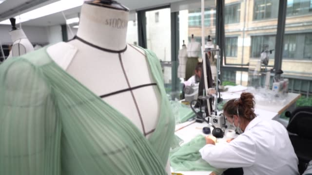 dior creative director talks about her cruise collection, the significance for her of the italian region of apulia, and the importance of tourism and... - fashion collection stock videos & royalty-free footage