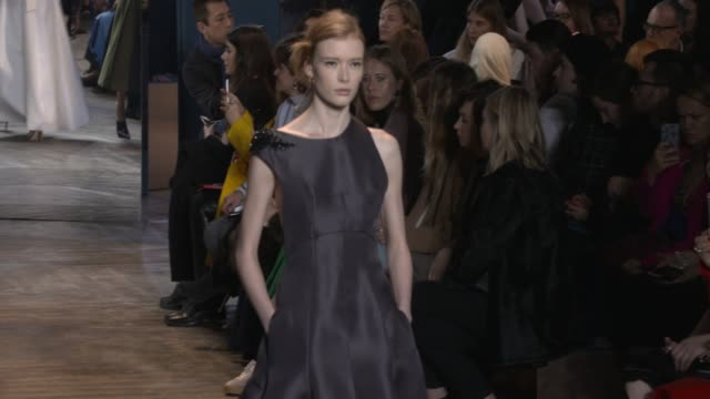 clean dior paris fashion week haute couture 2016 on january 24 2016 in paris france - event capsule stock videos & royalty-free footage