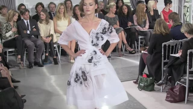Dior runway haute couture fashion show 2012 taking place at flagship in avenue Montaigne Dior runway haute couture paris 2012 part 1 on January 23...