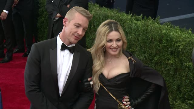 Diplo and Madonna at China Through The Looking Glass Costume Institute Benefit Gala Arrivals at Metropolitan Museum of Art on May 04 2015 in New York...