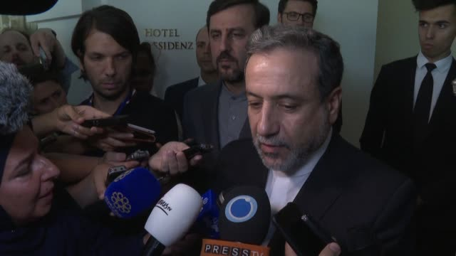 diplomats meeting in vienna have made one step forward in efforts to save the 2015 iran nuclear deal but the outcome was still not enough iran's... - foreign minister stock videos and b-roll footage
