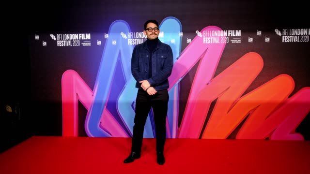 "director aleem khan attends the ""after love"" premiere during the 64th bfi london film festival at bfi southbank on october 15, 2020 in london,... - bfi southbank stock videos & royalty-free footage"