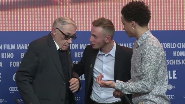 stockvideo's en b-roll-footage met director andre techine speaks about his film quand on a 17 ans at the 2016 berlinale - internationaal filmfestival van berlijn 2016