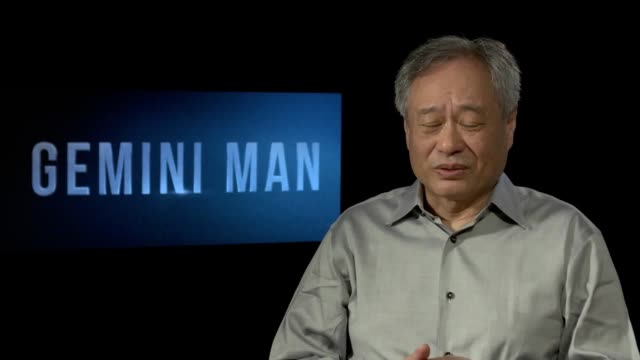 director ang lee discusses his new film gemini man which stars will smith henry brogan is an elite assassin who becomes the target of a mysterious... - arts culture and entertainment stock videos & royalty-free footage