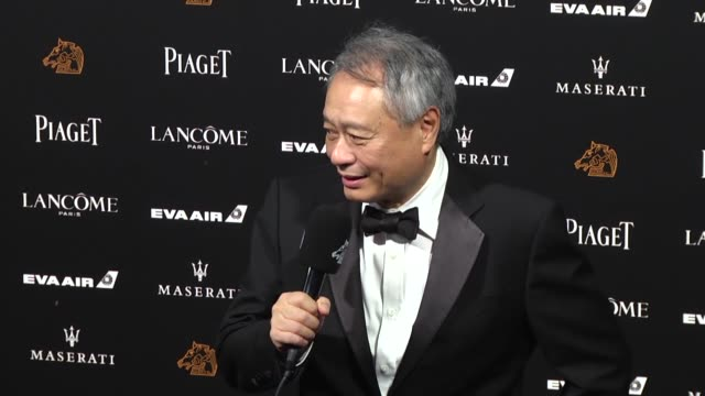 director ang lee poses on the red carpet of the 55th golden horse film awards ceremony at the sun yat-sen memorial hall on november 17, 2018 in... - film director stock videos & royalty-free footage