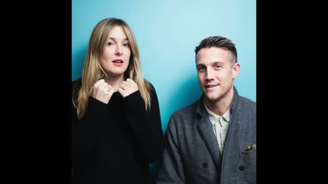 Director Anna Margaret Hollyman and Actor Nico EversSwindell from the film 'Maude' pose for a portrait in the YouTube x Getty Images Portrait Studio...