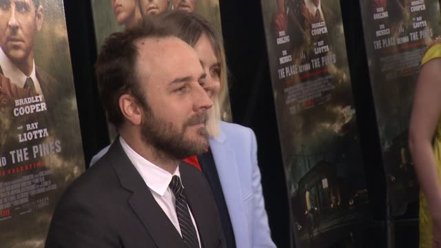 """director derek cianfrance ar """"the place beyond the pines"""" new york premiere presented by focus features at landmark sunshine cinema on march 28, 2013... - ランドマークサンシャインシアター点の映像素材/bロール"""