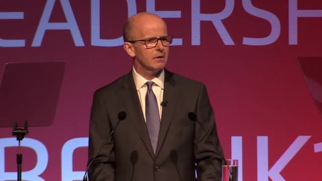 director general of gchq jeremy fleming talks about the threat posed by daesh in the cybersphere and how gchq have tackled them online at the cyber... - isil konflikt stock-videos und b-roll-filmmaterial