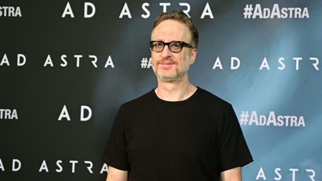 director james gray attends 'ad astra' photocall at villa magna hotel on september 05 2019 in madrid spain - photo call stock videos & royalty-free footage