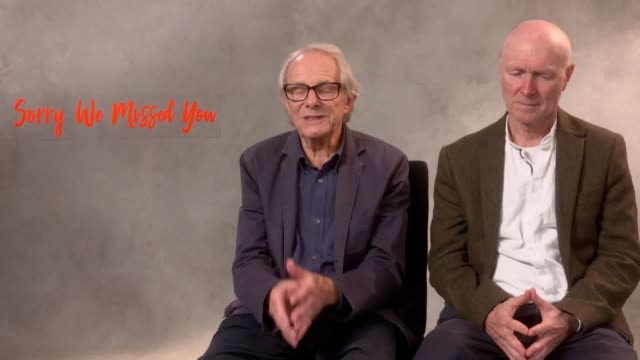 director ken loach and screenwriter paul laverty come back to cannes with another film documenting the gritty reality of modern britain. kris hitchen... - scriptwriter stock videos & royalty-free footage