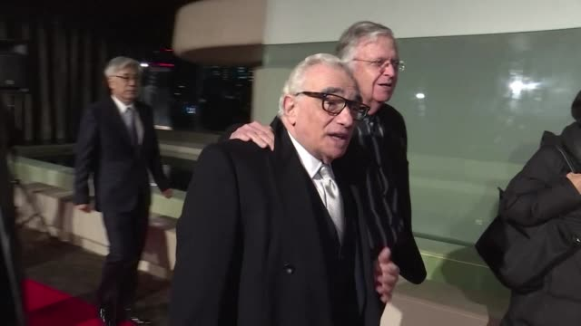 director martin scorsese attends a tokyo screening of his latest film the religious historical epic silence which tells the story of the persecution... - epic film stock videos & royalty-free footage