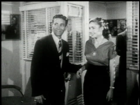 1951 MS director meets with the casting director and a hopeful starlet