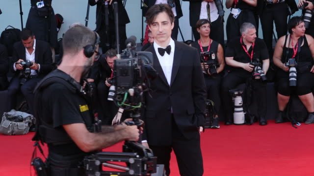 director noah baumbach walks the red carpet ahead of the marriage story screening during the 76th venice film festival at sala grande on august 29... - noah baumbach stock videos and b-roll footage