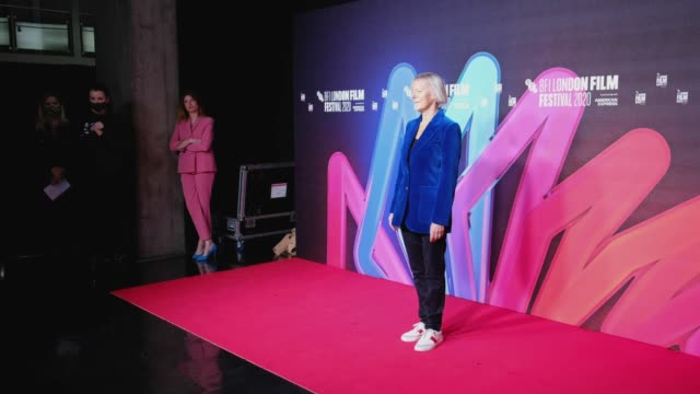 "director phyllida lloyd attends the ""herself"" premiere during the 64th bfi london film festival at bfi southbank on october 08, 2020 in london,... - bfi southbank stock videos & royalty-free footage"