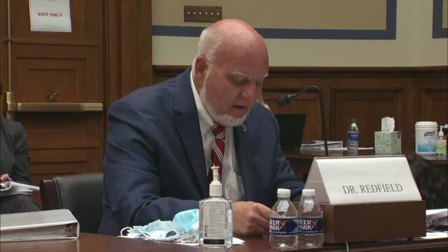 cdc director robert redfield says in testimony before the house coronavirus select investigative subcommittee that he had told leaders america was in... - eventuell stock-videos und b-roll-filmmaterial