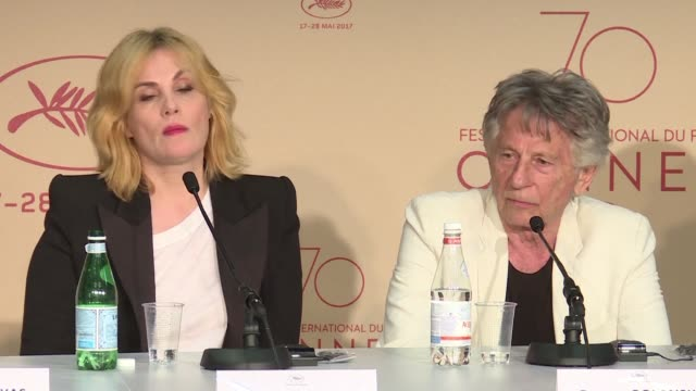 Director Roman Polanski presents his latest film Based on a true story out of competition at Cannes featuring Eva Green which he says feeds the...