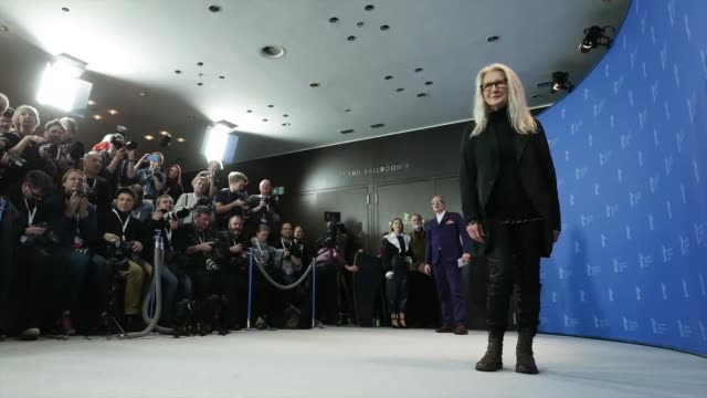 berlin germany february 26 director sally potter at the the roads not taken photo call during the 70th berlinale international film festival berlin... - gif stock videos & royalty-free footage