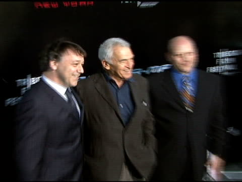 director sam raimi, screewriter alvin sargent and screenwriter ivan raimi at the 'spiderman 3' premiere at 2007 tribeca film festival at the astoria... - scriptwriter stock videos & royalty-free footage