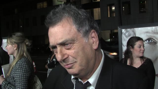 Director Stephen Frears on English humor and jokes about the royal family at the The Queen Los Angeles Premiere at Academy of Motion Picture Arts...