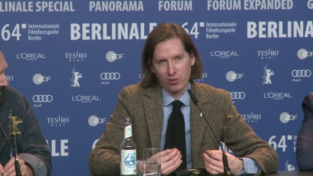 Director Wes Anderson presents The Grand Budapest Hotel at the opening of the Berlin Film Festival with a starstudded cast including Tilda Swinton...