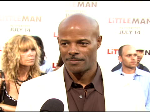 director/producer keenen ivory wayans on the fun of making the movie and on pulling in the reins when he had to at the 'little man' premiere at the... - mann national theater stock videos & royalty-free footage