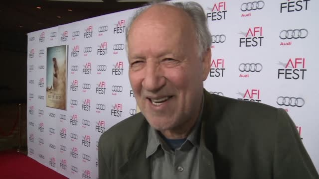 Directors Werner Herzog and Todd Haynes walk the red carpet at the American Film Institute annual festival where their films Queen of the Desert and...