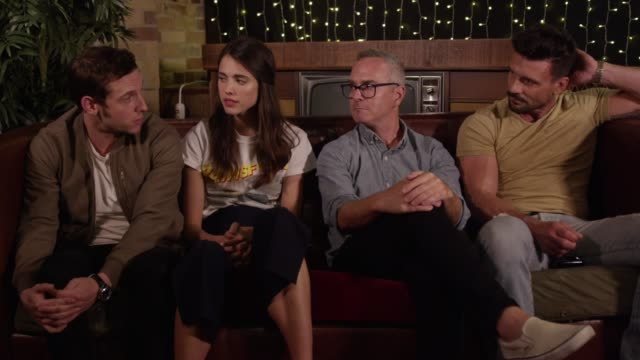 """DirectorTim Sutton and actorsJamie Bell Margaret Qualley and Frank Grillo discuss the drama """"Donnybrook"""" at the Toronto International Film Festival..."""