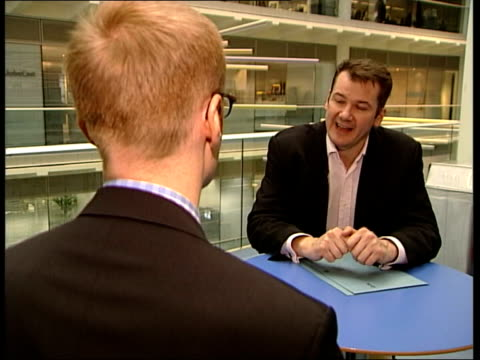 wrong numbers complaints itn london gir paul whiteing interview sot we have insisted on refund for anyone who doesn't get number they're looking for - refund stock videos & royalty-free footage