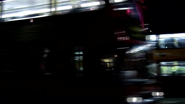 vídeos de stock, filmes e b-roll de 'dirty dancing' celebrity arrivals / interviews general view of aldwych theatre as traffic along - aldwych theatre