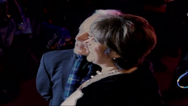 'dirty dancing' celebrity arrivals / interviews lynda bellingham posing for press next nickolas grace - lynda bellingham stock videos & royalty-free footage