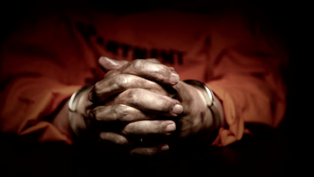 dirty hands in handcuffs - prison stock videos & royalty-free footage