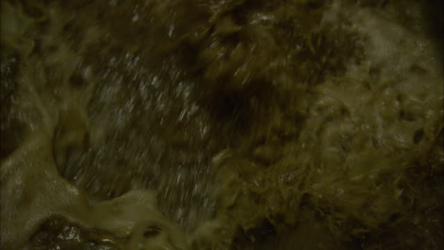 dirty water splashes and bubbles. - imperfection stock videos & royalty-free footage