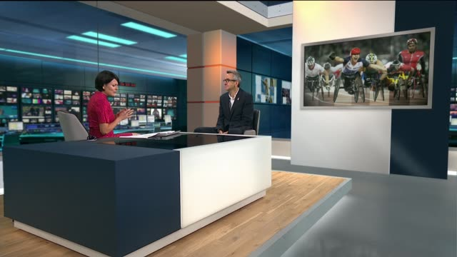 London Paralympics 'failed to change attitudes towards disability' ENGLAND London GIR INT Tim Hollingsworth STUDIO interview SOT