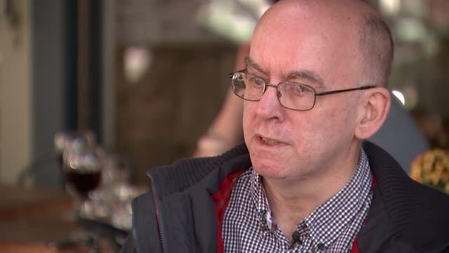 London Paralympics 'failed to change attitudes towards disability' Chris Stapleton along street with reporter SOT/ Chris Stapleton interview SOT
