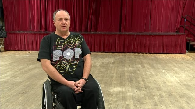 Disabled dancer sues events company over wheelchair ban Fred Walden interview SOT Thought it was a joke accused of damaging the floor was really...