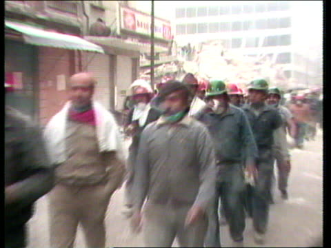 disasters compilation clip one tx 2191985 mexico city earthquake - erdbeben stock-videos und b-roll-filmmaterial