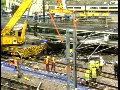 disasters compilation clip two t08109901 / m paddington train crash - train crash stock videos and b-roll footage