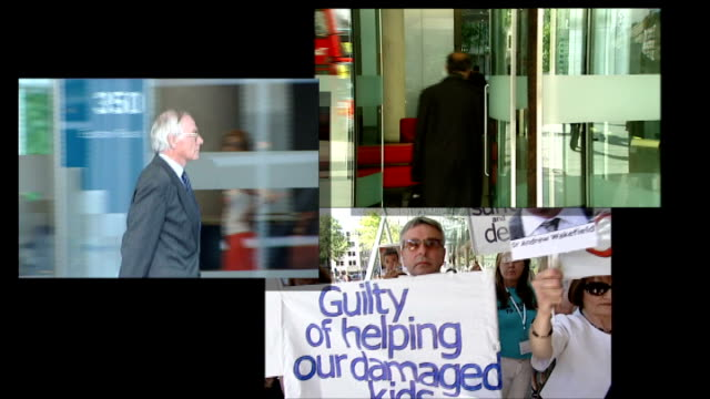 disciplinary action against doctors / reforms to system recommended graphicised sequence images of doctors and patients outside general medical... - general medical council stock videos & royalty-free footage