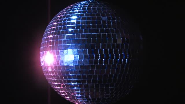 disco ball 1 - mirror ball stock videos & royalty-free footage