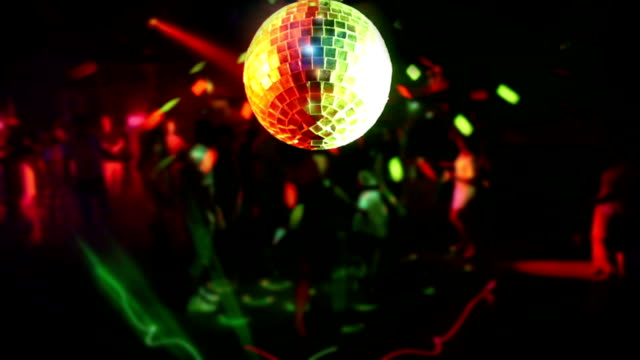 disco ball and nightclub - disco dancing stock videos & royalty-free footage