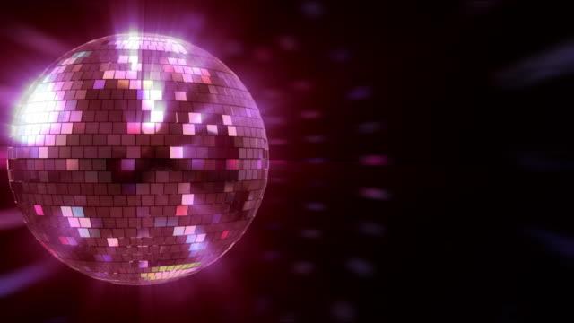 disco ball hd - mirror ball stock videos & royalty-free footage