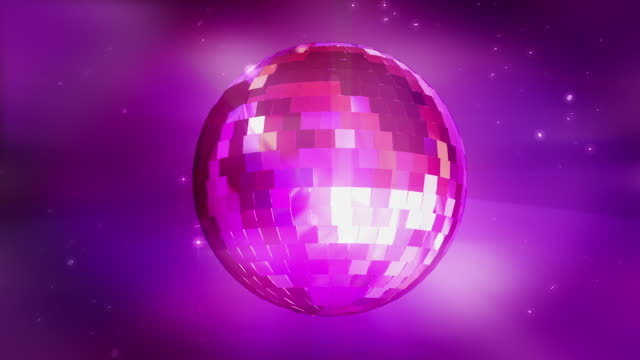 hd: disco ball loopable - mirror ball stock videos & royalty-free footage