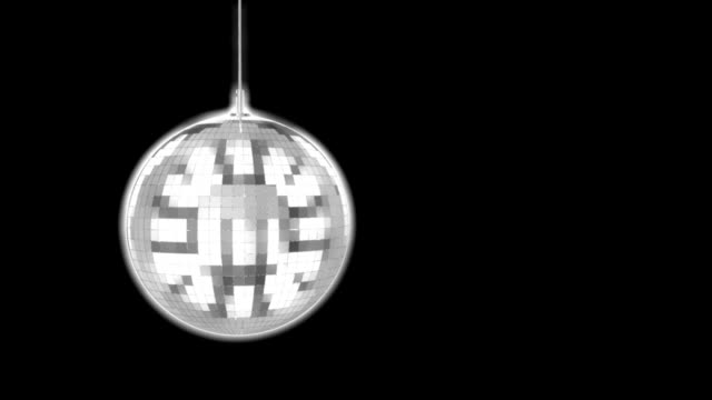 disco ball mirrors spin( hd) - mirror object stock videos & royalty-free footage