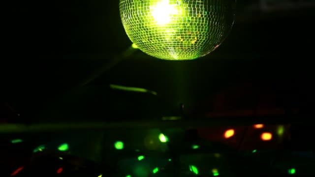 Disco-Kugel. Nacht club-Beleuchtung