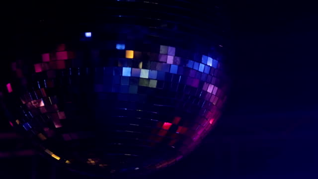 Disco Ball Real Footage
