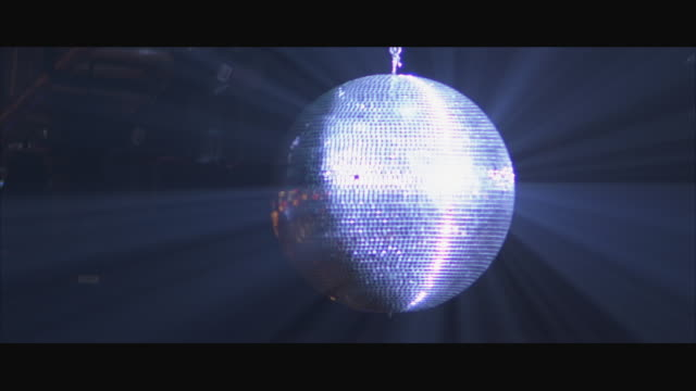 ms swish pan disco ball spinning - swish pan stock videos & royalty-free footage