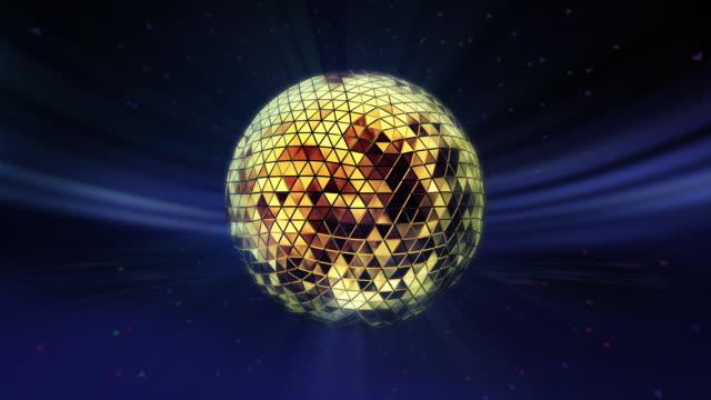 disco ball - mirror ball stock videos & royalty-free footage