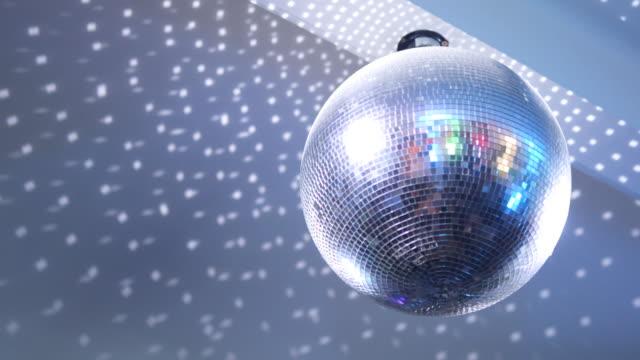 vidéos et rushes de boule de disco - miroir ancien
