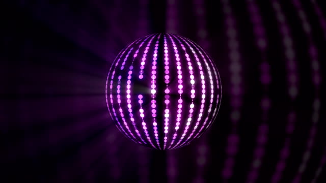 disco ball - spielball stock-videos und b-roll-filmmaterial